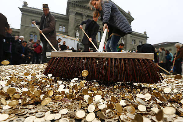 Swiss To Pay Basic Income 2,500 Francs Per Month To Every Adult