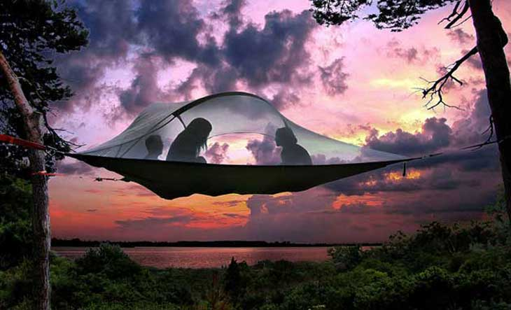 This Awesome Invention Just Took Camping To The Next Level.