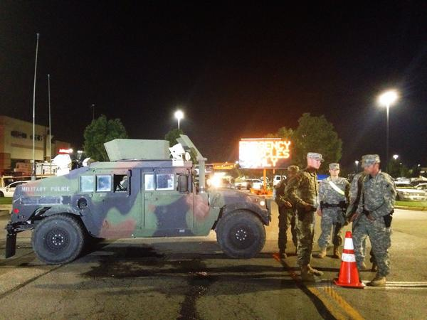 Constitutional Rights Essentially Suspended in Ferguson as Police Raid Homes Door to Door