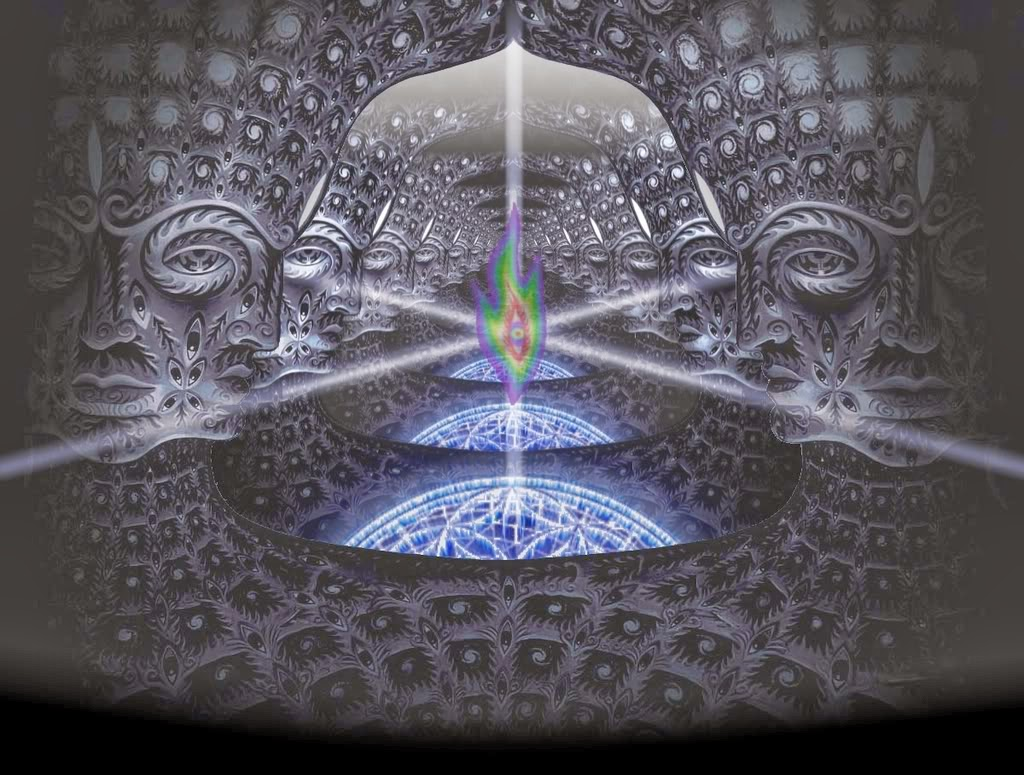 Psychedelic Spirit Paintings Alex Grey Art Gallery: The 3 Phases Of DMT- A Detailed Guide To