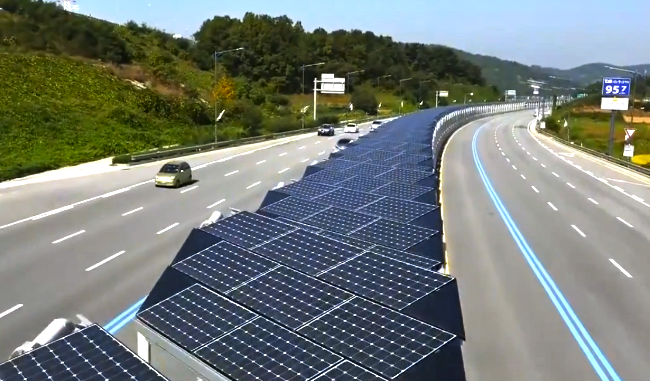 Imagine Solar Panels Along The Length Of Every Highway In