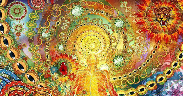Mysticism, Oneness, Spirituality, and Describing the Indescribable Ayahuasca-art