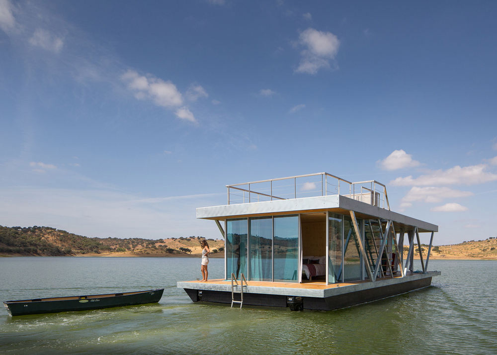 Self-Sustaining Floating Home Offers a Perfect Off-Grid Getaway   The Mind Unleashed