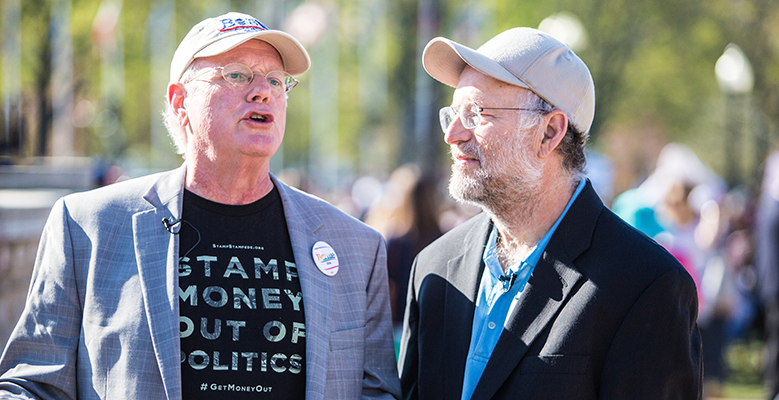 Ben And Jerry Arrested At The Capitol For Protesting Corruption In Politics Ben-2