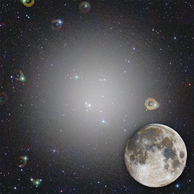 giant invisible galaxy moon