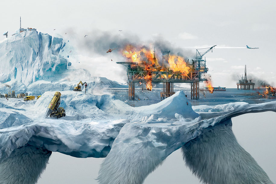 Destroying Nature is Destroying Life arctic