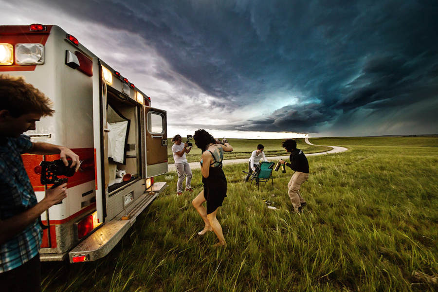 Surreal Stormchasing series