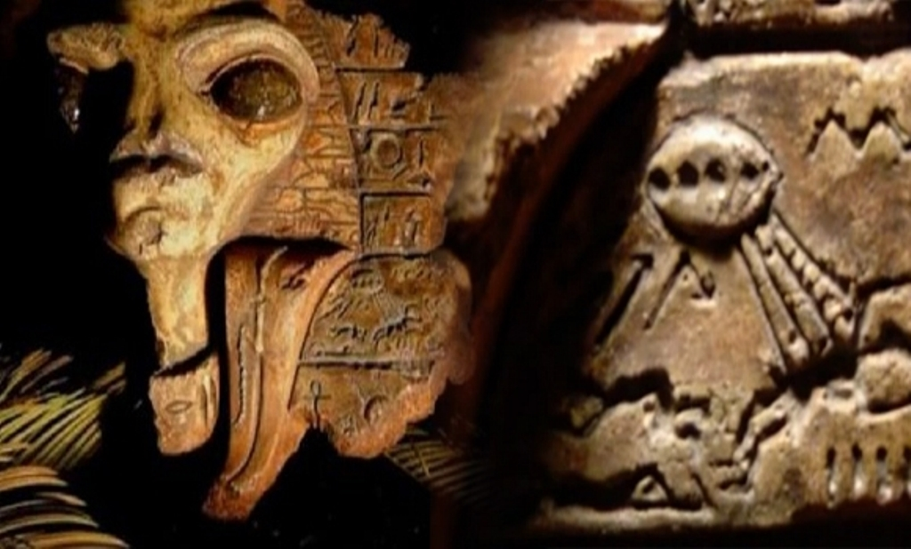 Proof of Aliens in Ancient Egyptian Hieroglyphs, Relics Hidden in Rockefeller Museum