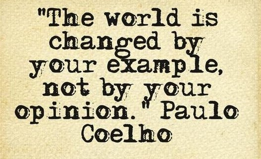 Coelho Example not Opinion