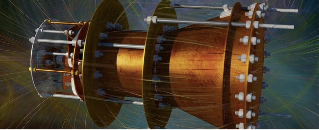 The 'Impossible' EmDrive Runs on Free Energy