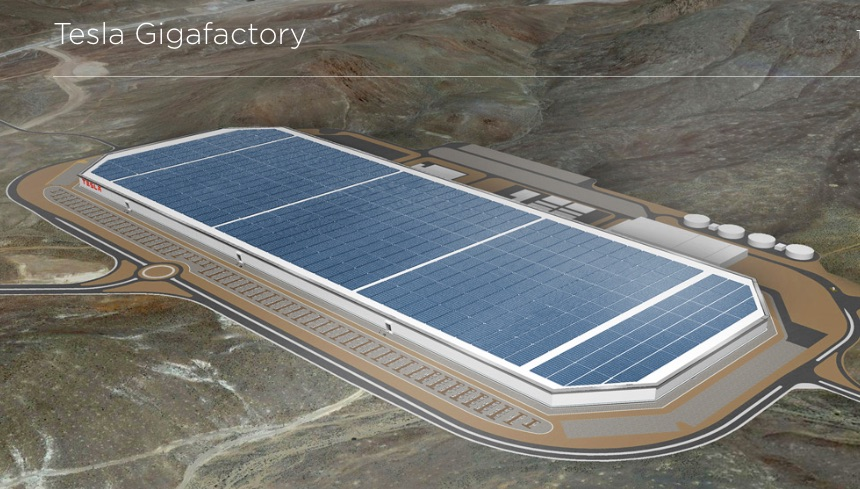 Tesla's New Gigafactory Hopes to Meet Demand for 500K New Electric Cars Annually