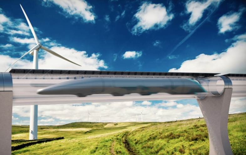 Vacuum Hyperloop Imagined By Elon Musk