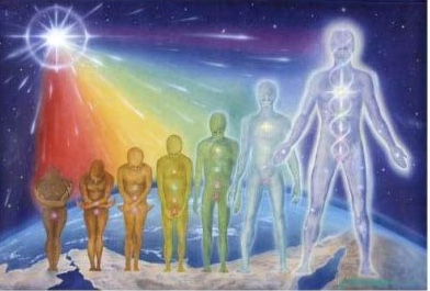 We will all develop 'super-powers' as we evolve spiritually.