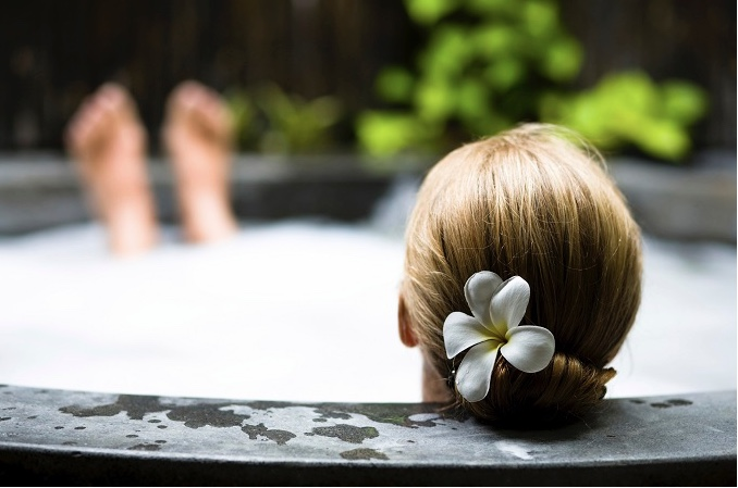 A Warm Bath with Ayurvedic Essential Oils Can Calm Frazzled Nerves