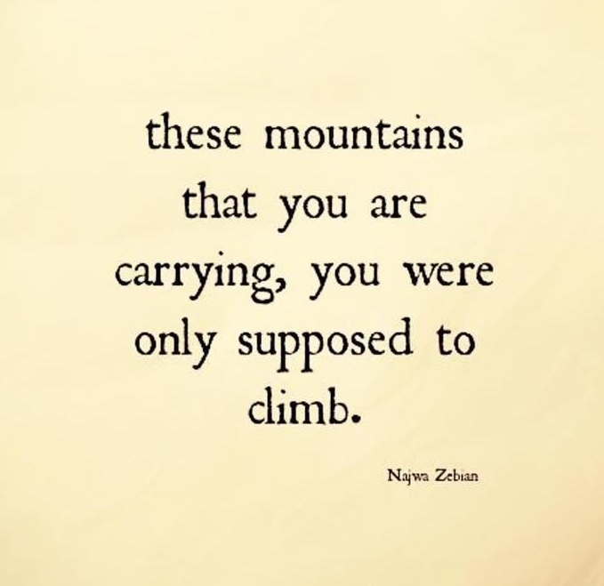 Zen Mountains Quote