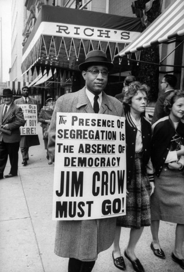 democracy and jim crow