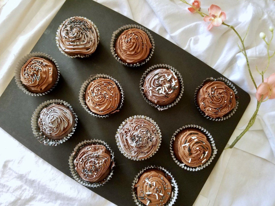 How To Make Gluten Free Cannabis Infused Chocolate Cupcakes
