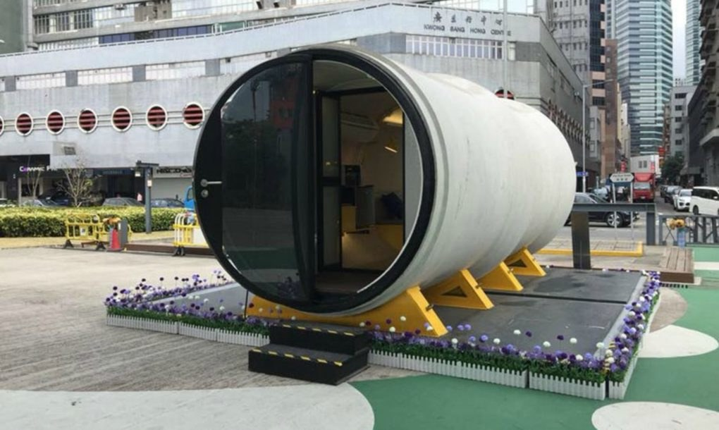 Low cost concrete pipe homes may be the next big trend in