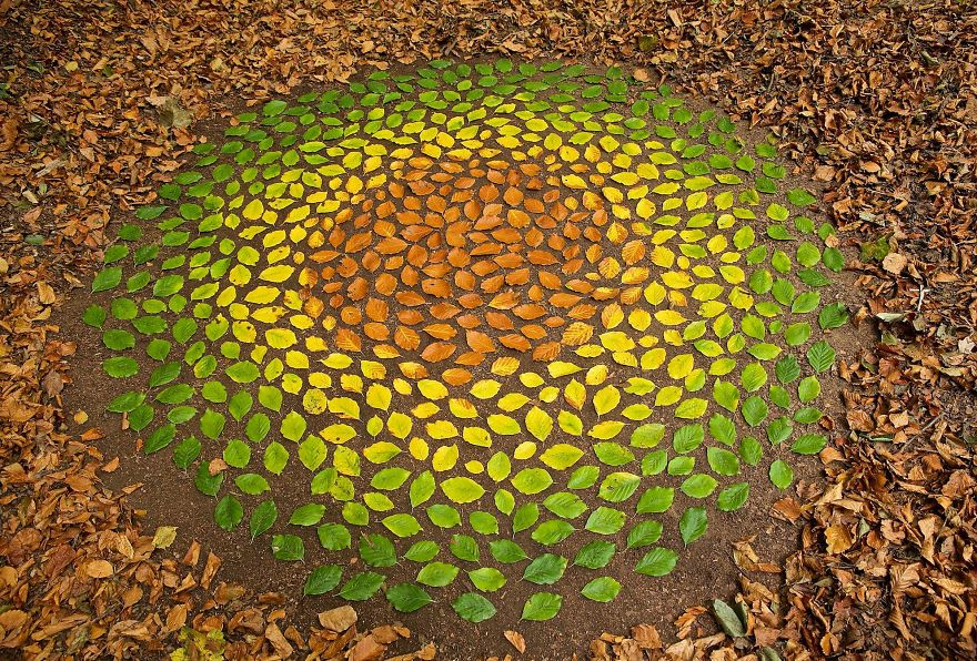 Artist Spends Hours Creating Natural Mandalas, And He's Hoping You Will Find Them James-Brunt-Nature-Mandalas-