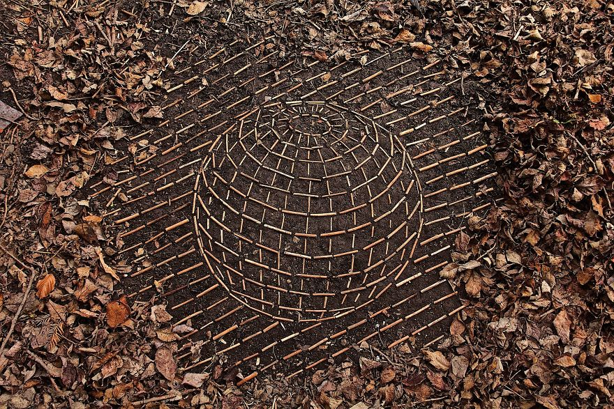Artist Spends Hours Creating Natural Mandalas, And He's Hoping You Will Find Them James-Brunt-Nature-Mandalas-19