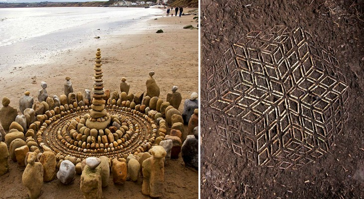 Artist Spends Hours Creating Natural Mandalas, And He's Hoping You Will Find Them Natural-Mandalas-1