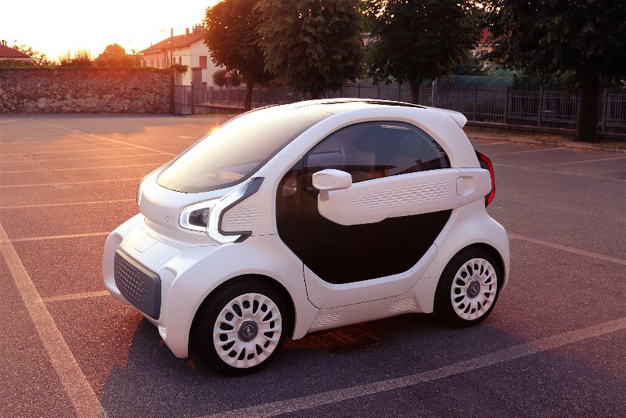 First Mass-Producible 3D-Printed Electric Car in the World Costs Just $7,500 Polymaker-XEV-3D-printed-car-1