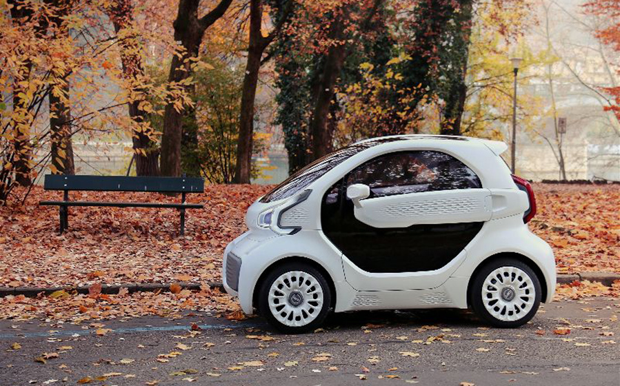 First Mass-Producible 3D-Printed Electric Car in the World Costs Just $7,500 Polymaker-XEV-3D-printed-car-5