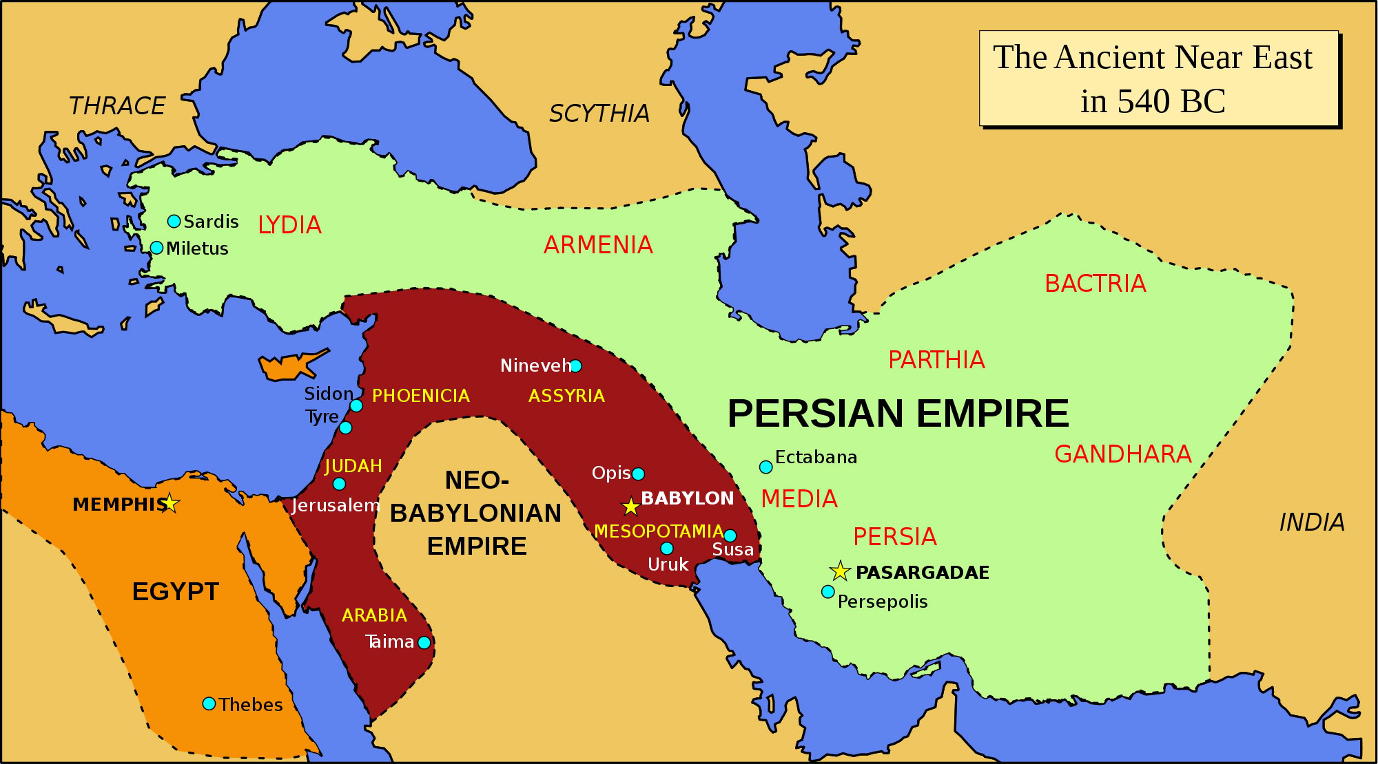 The Longest Conflict in World History may be the Root of War Today Persia