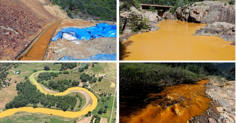 Mining Sites Toxic Water
