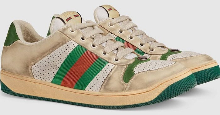 Filthy Looking Gucci Sneakers