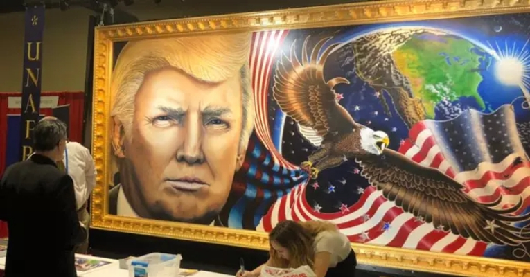 Smithsonian Trump Painting