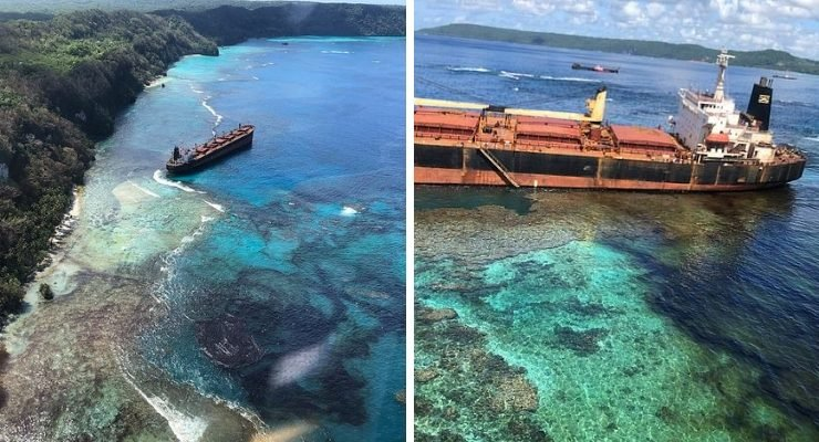 Oil Solomon Islands Reef