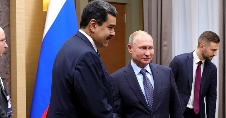 Venezuela Darkness Russian Troops