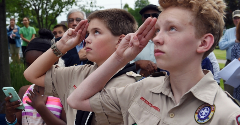 Boy Scout Leaders