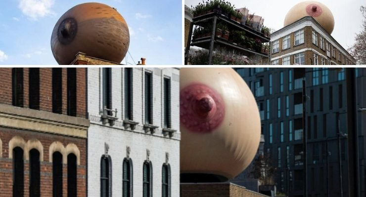 Giant Inflatable Boobs London