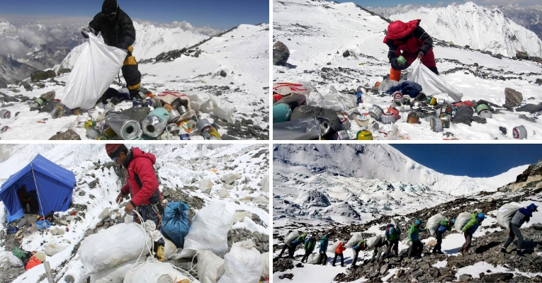 Mount Everest Cleaning Campaign
