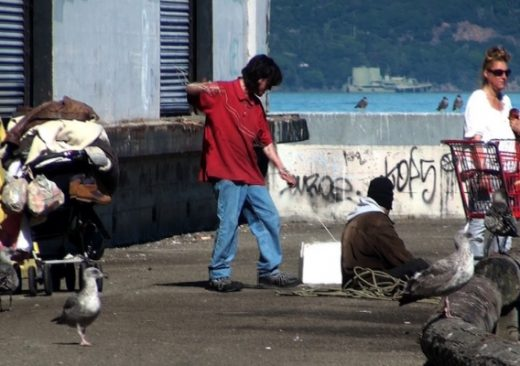 Wealthy People Stop Homeless Shelter
