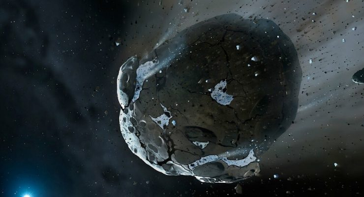 Asteroid Dust Earth Water