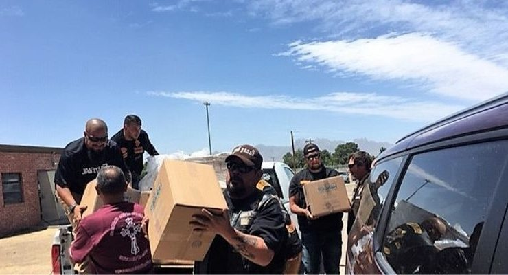 Bikers Deliver 30,000 Meals to Migrants Seeking Asylum in New Mexico