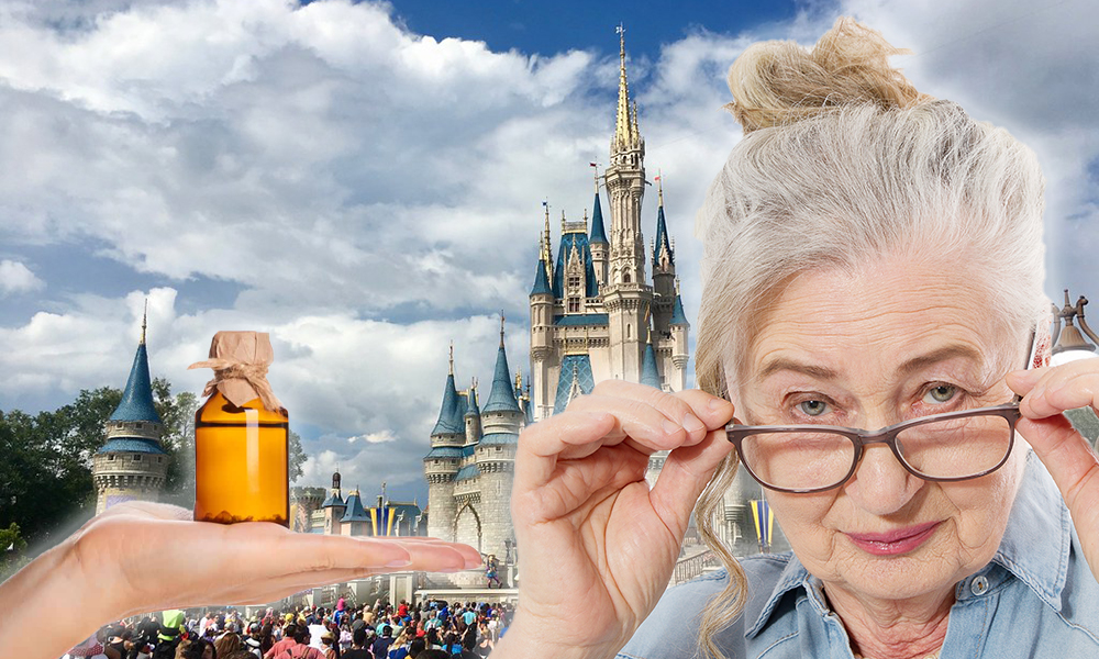 Great-Grandmother Arrested At Disney World For Having CBD