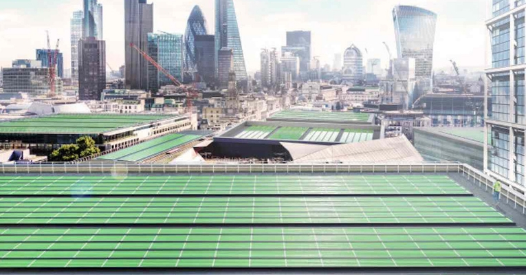 Rooftop Panels Purify Photosynthesis Plants