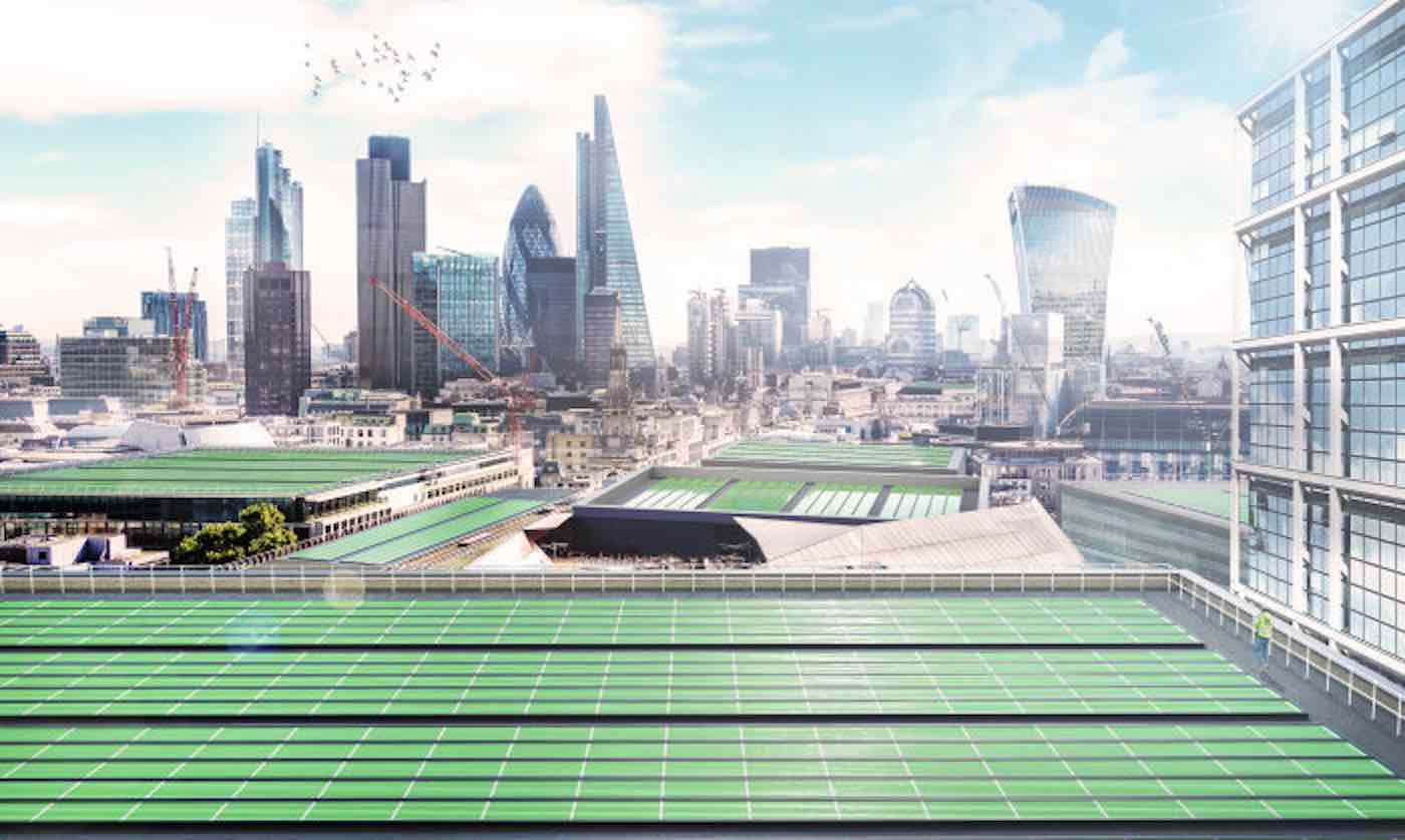 Rooftop Panels Can Purify Polluted Air 100x Faster Than Trees Using Photosynthesis of Plants Rooftop-solar-panels-1