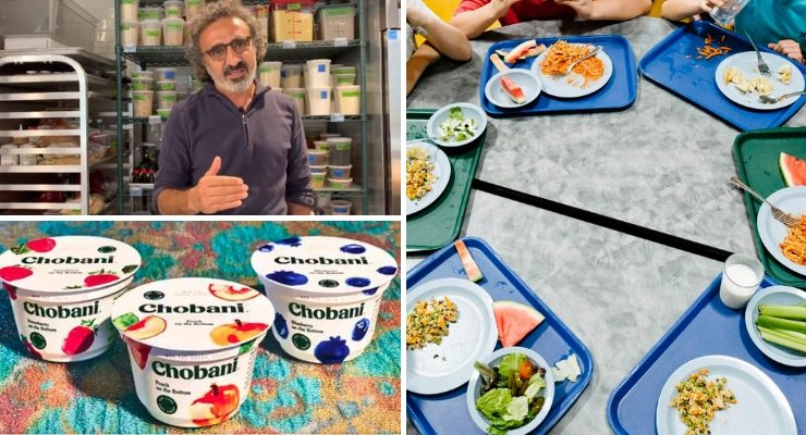 Yogurt Maker Chobani Pays Off Nearly $50,000 of School Lunch Debt for Poor Students