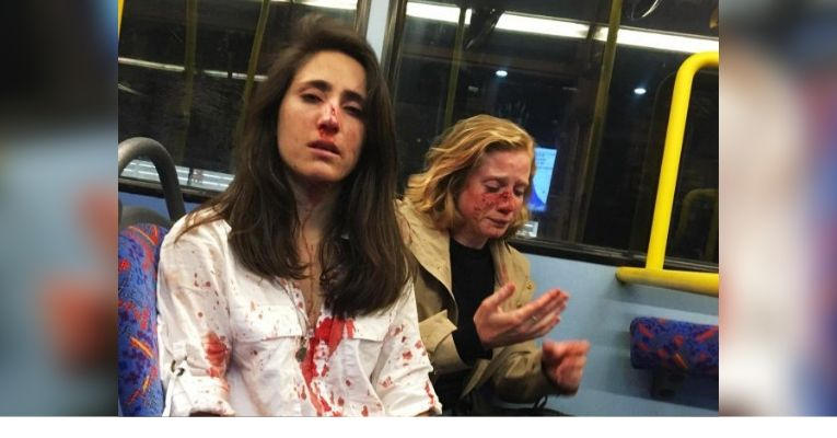 Arrests Made After Lesbian Couple Attacked on Bus for Refusing to Kiss