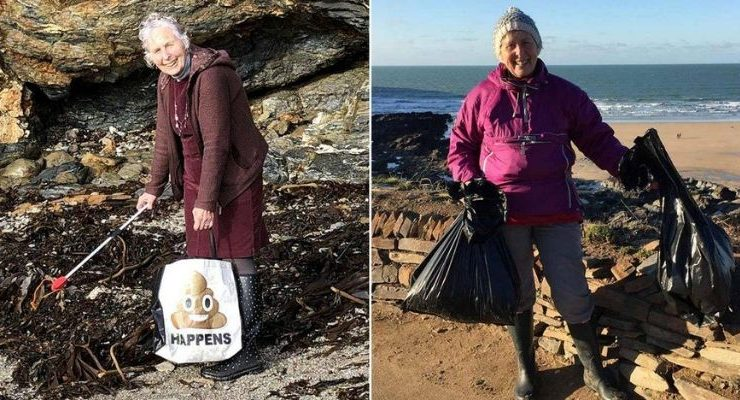 Grandma Cleaned 52 Beaches in 2018