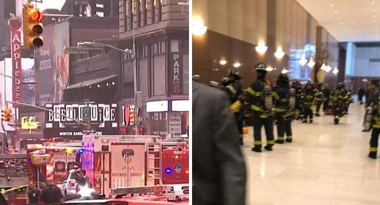 Helicopter Crashes Into New York City Building