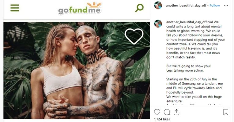 Instagram Couple Begging $11,000 Vacation