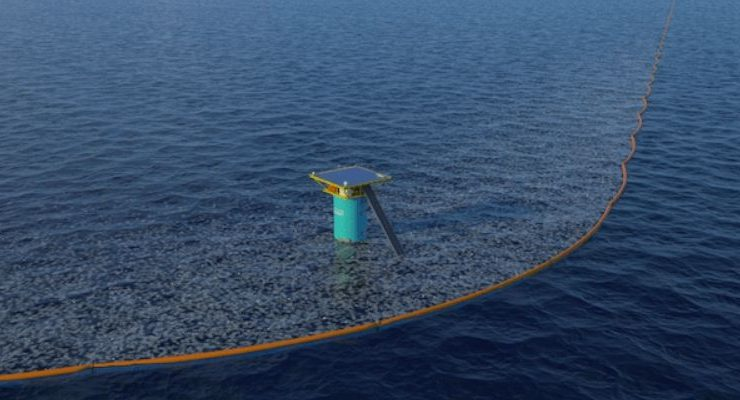 Ocean Cleanup Pacific Garbage Patch