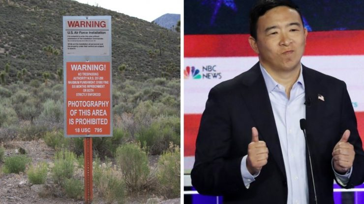 Area 51 Andrew Yang