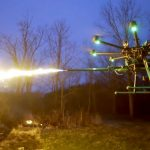 Flamethrower Drones